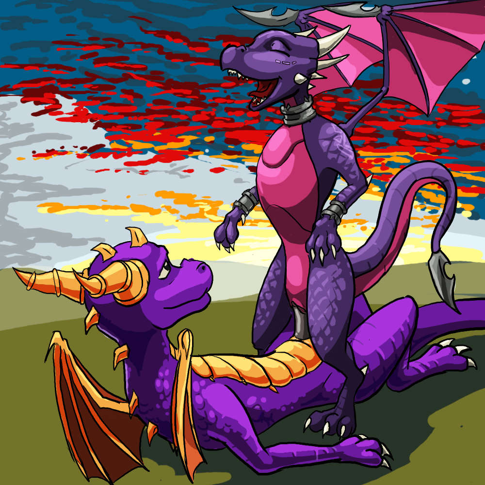 and fanfiction mating spyro cynder A cat is fine too e621