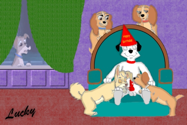and pound puppies lucky cookie Strawinsky and the mysterious house
