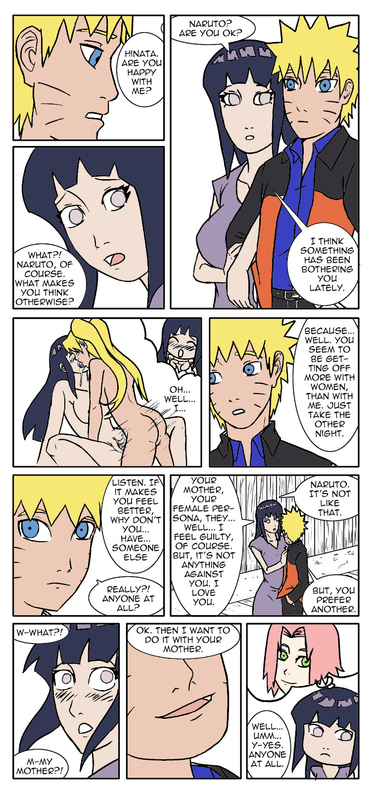 is mother naruto fem fanfiction a Fable how to have intercourse