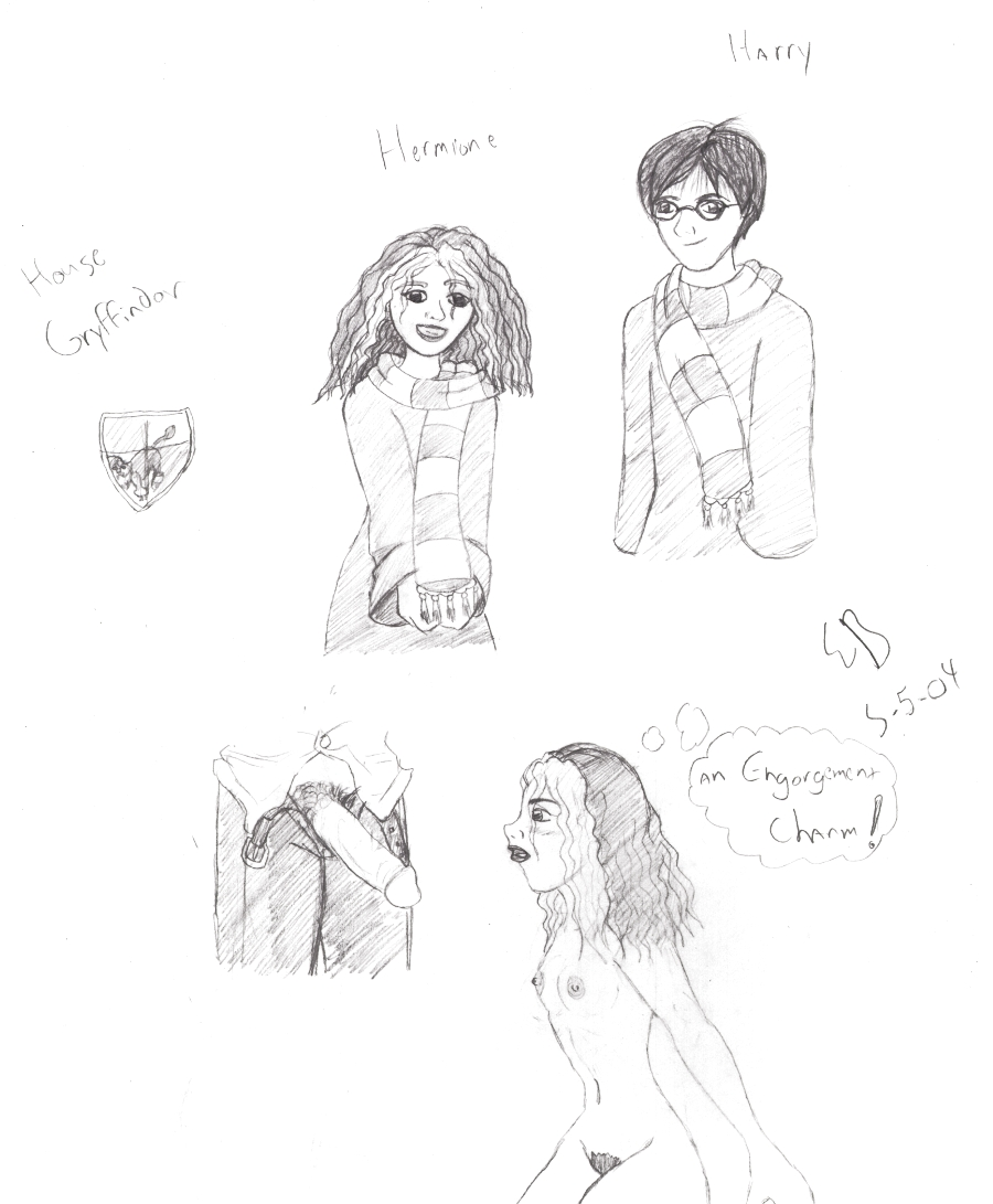 from hermione naked potter harry Wreck-it ralph