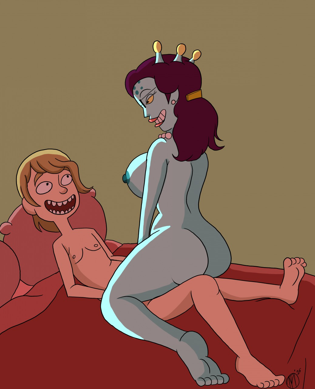 wish rick and morty incest i porn Lois family guy real life
