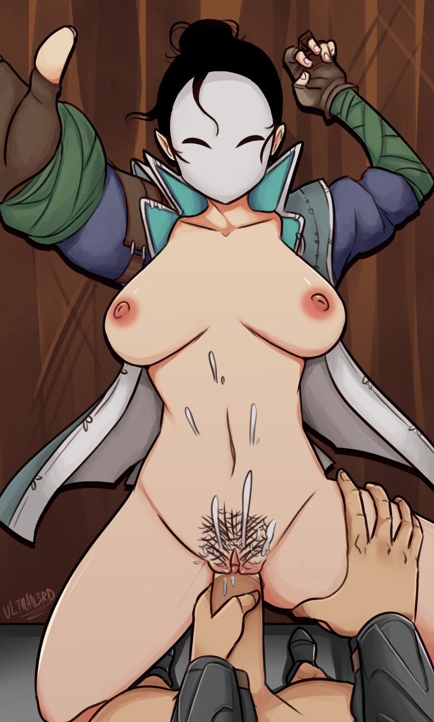 prior black female for honor Love death and robots tits