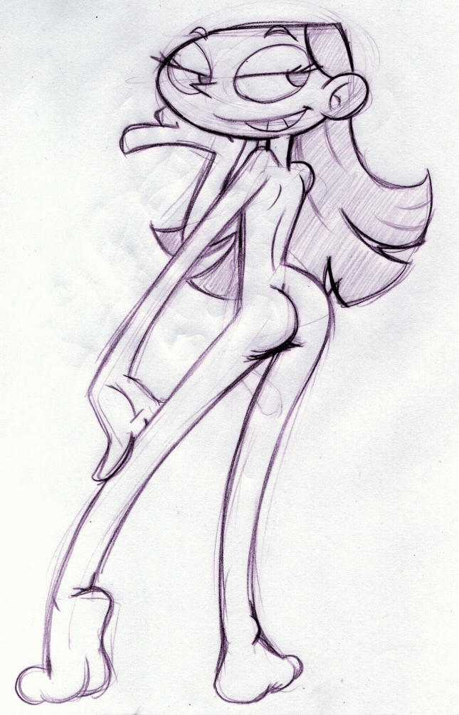 dexter's dee naked dee laboratory Female possession by male ghost